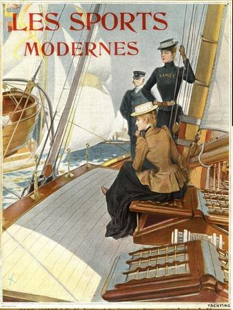 Les Sports Modernes, Magazine Cover, France, 1910