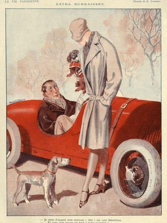 La Vie Parisienne, Magazine Advertisement, France, 1920