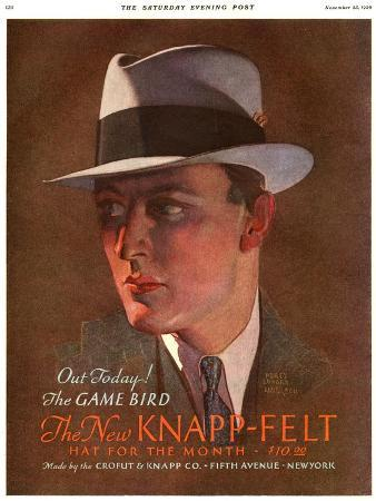 Knapp-Felt, Magazine Advertisement , USA, 1930