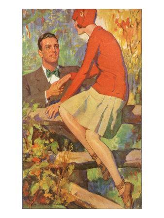 Romance, Magazine Advertisement , USA, 1920