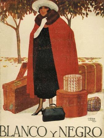 Blanco y Negro, Magazine Cover, Spain, 1920