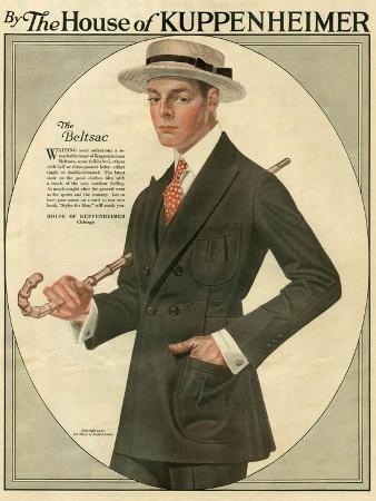 Kuppenheimer, Magazine Advertisement, USA, 1910