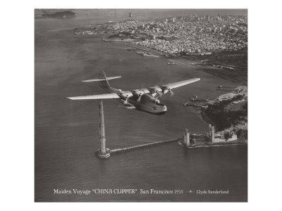 Maiden Voyage, China Clipper, San Francisco, California 1935