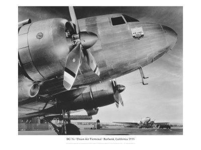 DC-3, Union Air Terminal, Burbank, California 1935
