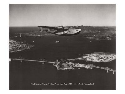 California Clipper, San Francisco Bay, California 1939
