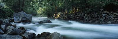 River Passing Through a Forest, Nantahala Falls, Nantahala National Forest, North Carolina, USA