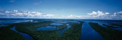 Clouds over a River, Amazon River, Anavilhanas Archipelago, Rio Negro, Brazil