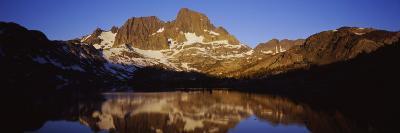 Banner Peak, Thousand Island Lake, Ansel Adams Wilderness, Sierra Nevada, California, USA