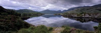 View of Upper Lake, Lakes of Killarney, Ring of Kerry, County Kerry, Munster, Republic of Ireland