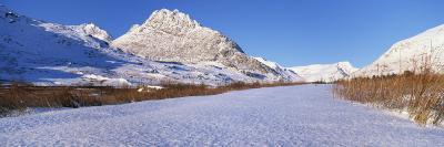 Tryfan in Winter, Snowdonia National Park, Gwynedd, Wales, United Kingdom, Europe