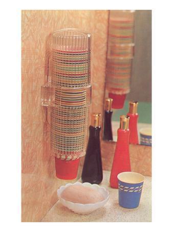 Bathroom Paper Cup Dispenser