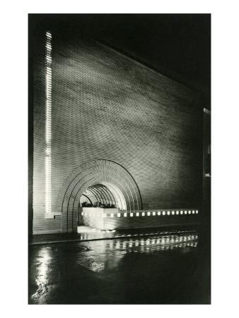 Semi-Circular Entrance