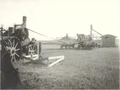 Steam-Powered Farm Equipment