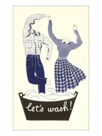 Let's Wash, Dancing Laundry