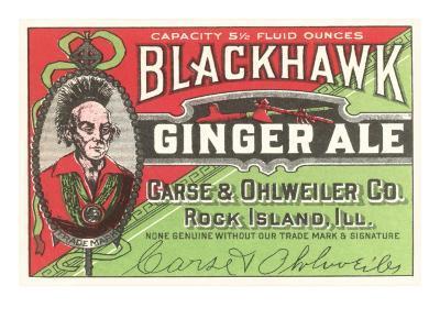 Blackhawk Ginger Ale