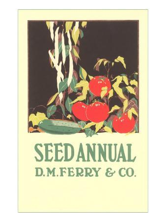 Seed Annual, Tomatoes and Cucumber