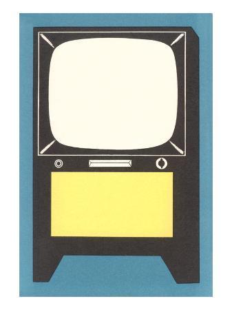 Blank Television Set