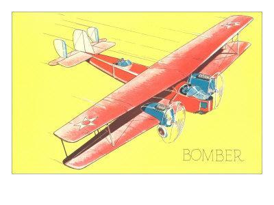 Bomber Biplane