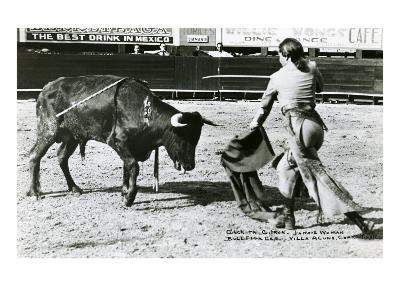 Conchita Cintron Killing Bull