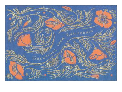 Greetings from California, Poppies