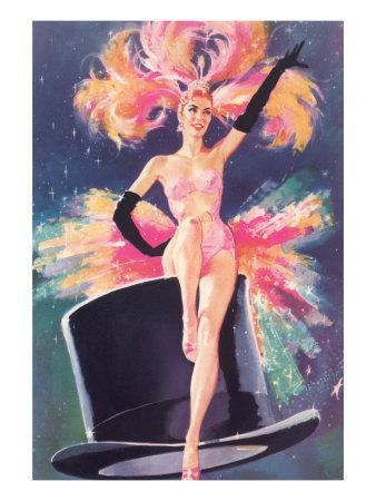 Showgirl on Top Hat