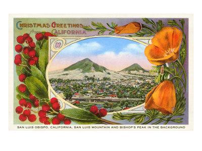 California Christmas, San Luis Obispo