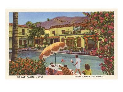 Royal Palms Hotel, Palm Springs, California