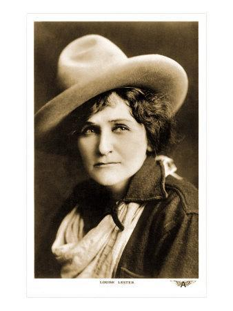Louise Lester, Cowgirl