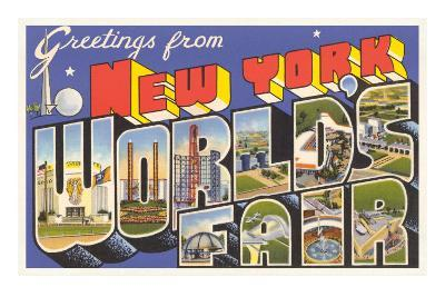 Greetings from New York World's Fair, 1939