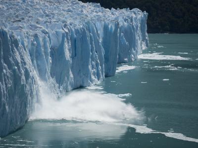 Calving Glacier, Perito Moreno Glacier, Los Glaciares National Park, Santa Cruz, Argentina