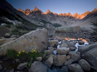 Cerro Catedral and Lago Toncek, Nahuel Huapi National Park, Bariloche, Patagonia, Argentina