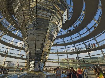 Reichstag Building, Designed by Sir Norman Foster, Berlin, Germany