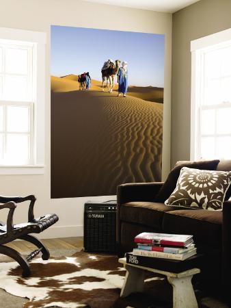Merzouga, Erg Chebbi, Sahara Desert, Morocco