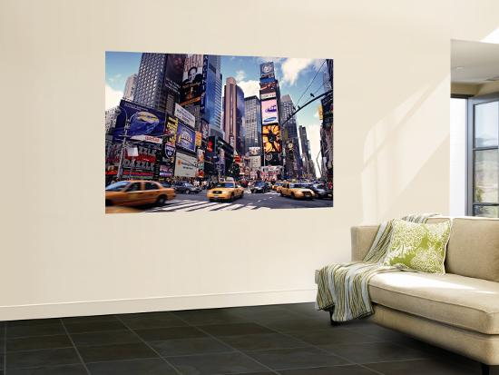 times square new york city usa wall mural by doug pearson at. Black Bedroom Furniture Sets. Home Design Ideas