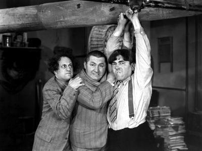 The Three Stooges, A-Plumbing We Will Go, Larry Fine, Curly Howard, Moe Howard, 1940