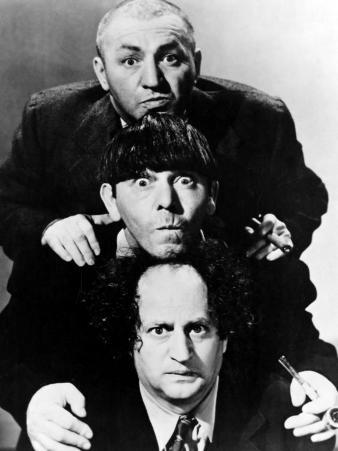 The Three Stooges, Crash Goes the Hash, Curly Howard, Moe Howard, Larry Fine 1944