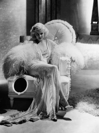 Dinner at Eight, Jean Harlow, 1933