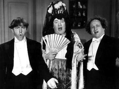 The Three Stooges, Microphonies, Moe Howard, Curly Howard, Larry Fine 1945