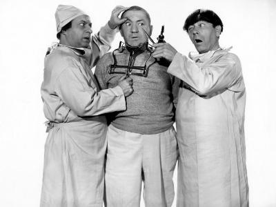 The Three Stooges, Monkey Businessmen, Larry Fine, Curly Howard, Moe Howard, 1946