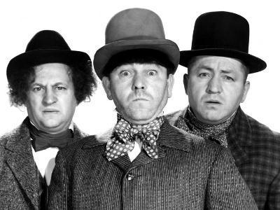 The Three Stooges, Phony Express, Larry Fine, Moe Howard, Curly Howard 1943