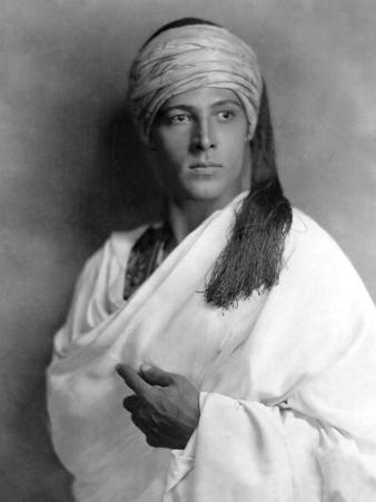 Portrait of Sheik, Rudolph Valentino, 1921