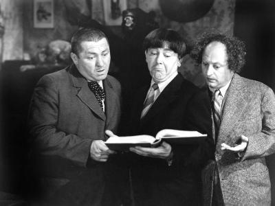 Spook Louder, Curly Howard, Moe Howard, Larry Fine, 1943