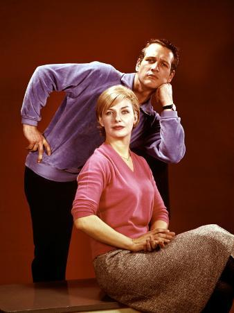 Paul Newman, Joanne Woodward in the 1960s