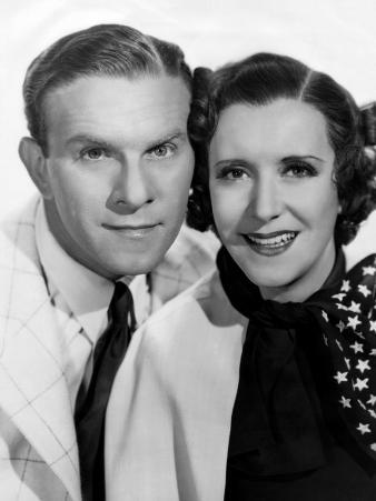 George Burns, Gracie Allen, Paramount Photo, c.1936