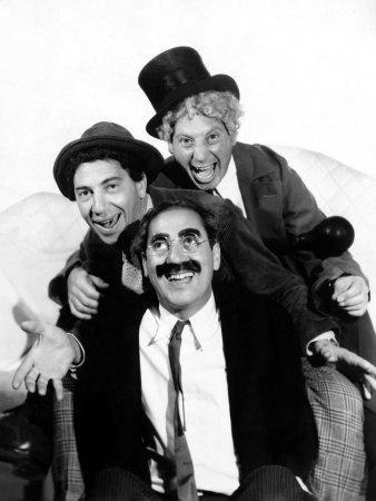 The Marx Brothers Pose for a Publicity Portrait During Production of a Night at the Opera, 1935