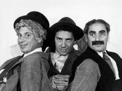 The Marx Brothers, Harpo Marx, Chico Marx, Groucho Marx, Late 1930s