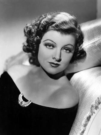Myrna Loy, December 21, 1935