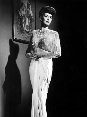 What a Woman, Rosalind Russell Wearing a Travis Banton Gown, 1943