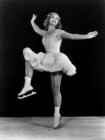 Sonja Henie in the Hollywood Ice Revue of 1940-1941