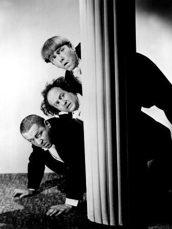 The Three Stooges, Moe Howard, Larry Fine, Curly Howard